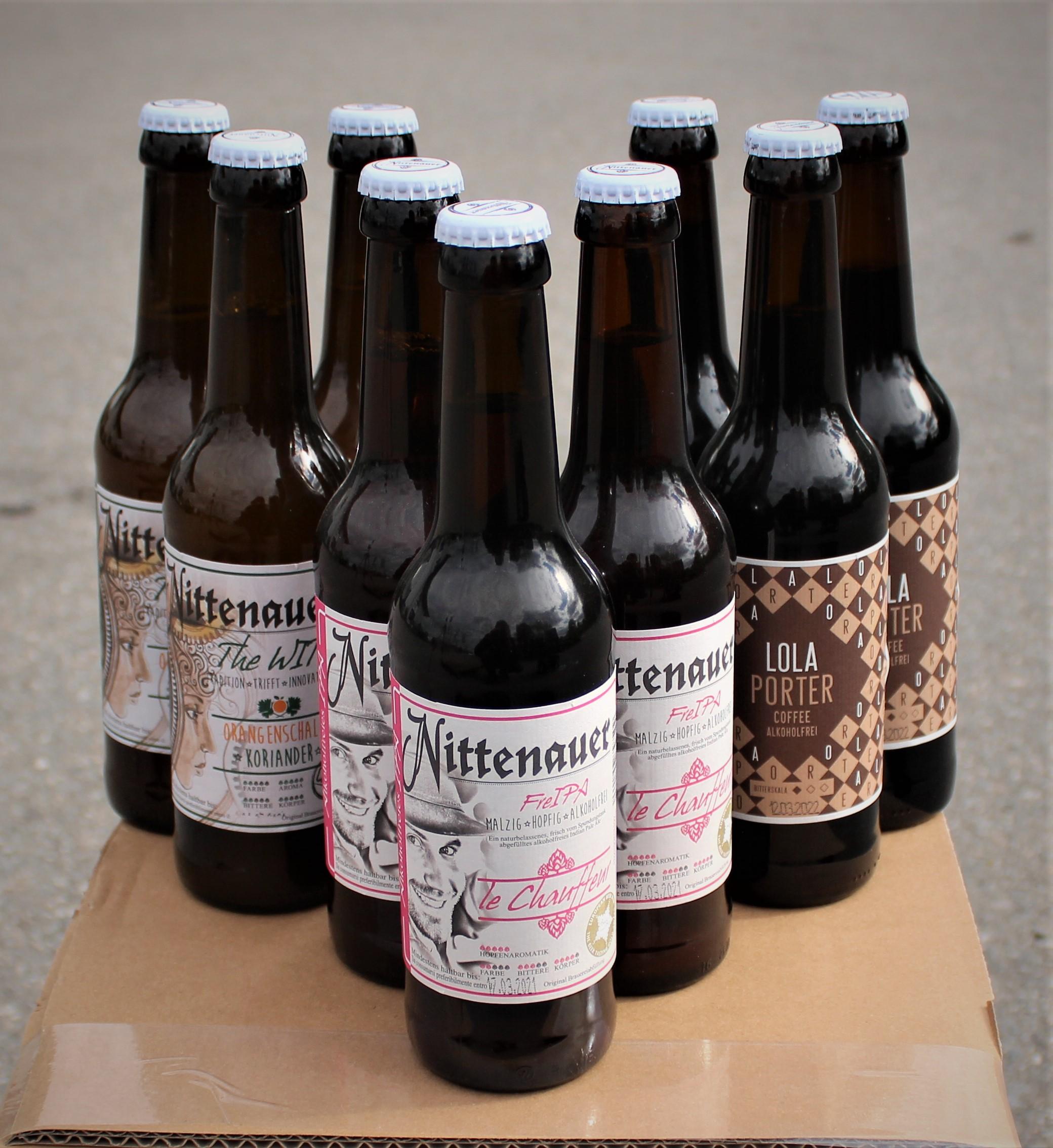 alkoholfreie Box - Bierfahrer Box - 9 Flaschen