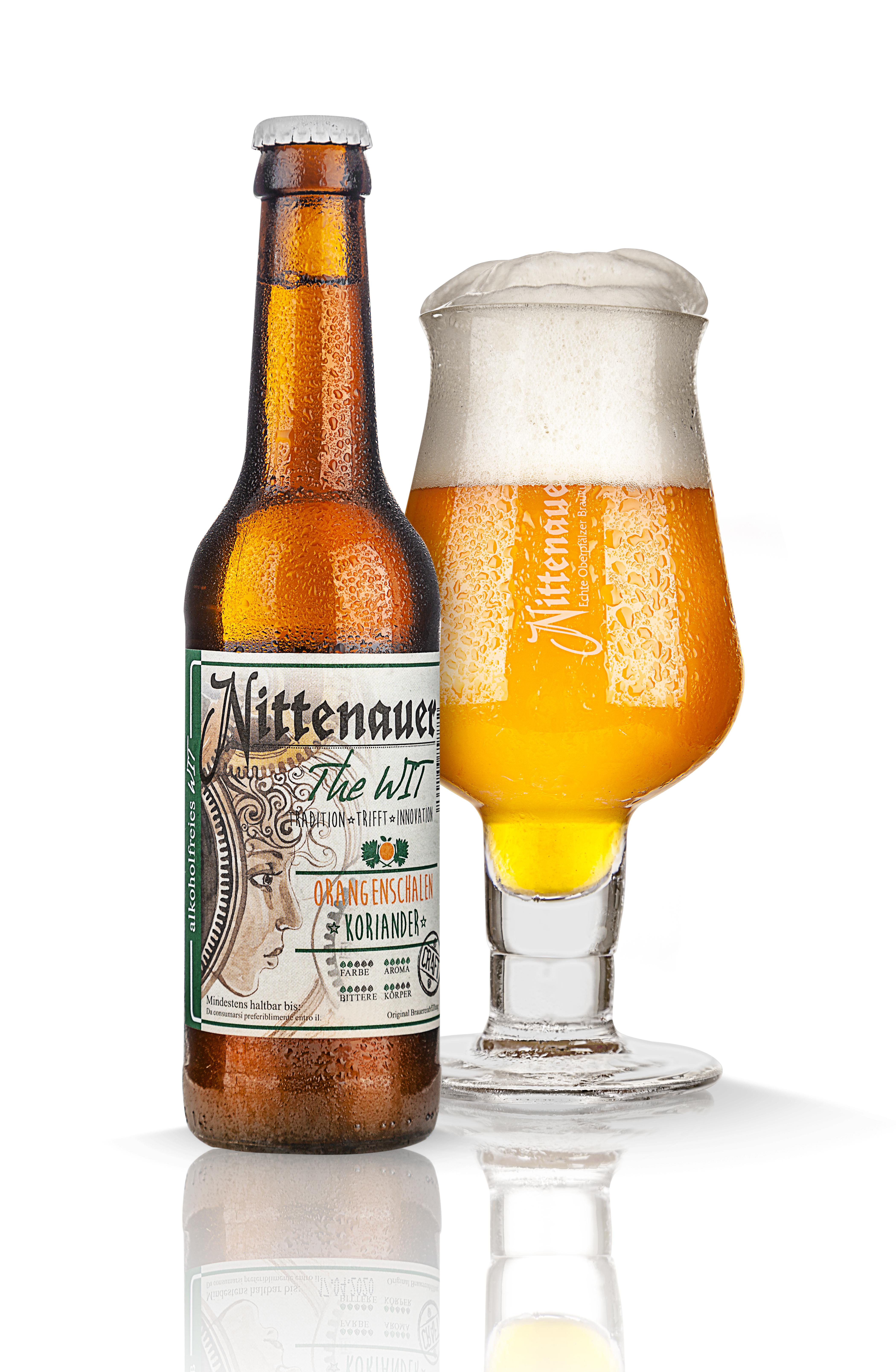 The WIT -alkoholfrei - Orangenschalen & Koriander