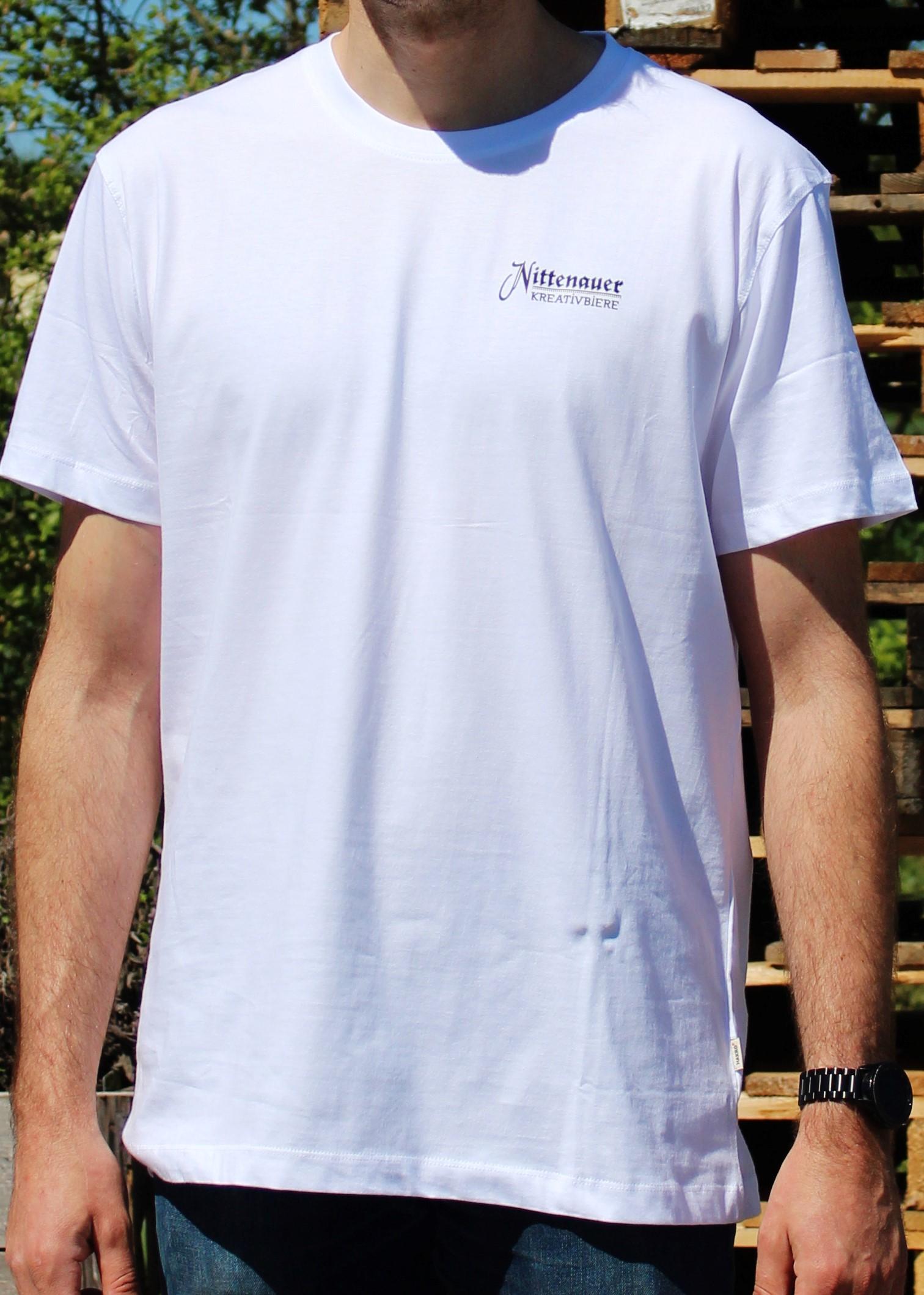 Nittenauer Kreativbiere T-Shirt - weiß